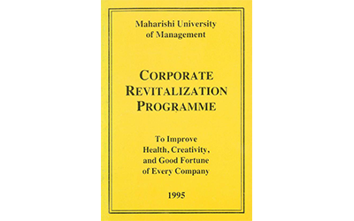 Corporate Revitalization Programme